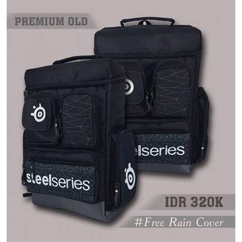 Tas Gaming Bigbag Steelseries backpack premium steelseries black