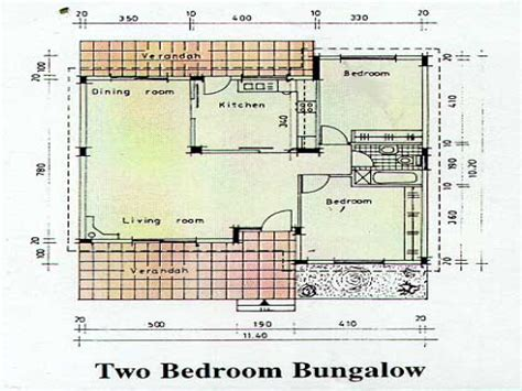 2 Bedroom Bungalow House Plans by Two Bedroom Bungalow In Two Bedroom Bungalow House