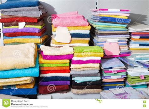 how to shop for bed sheets detail view of loop towels and bed sheets stock image