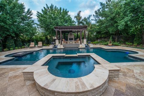 designer pools luxury custom pools photo gallery the woodlands spring