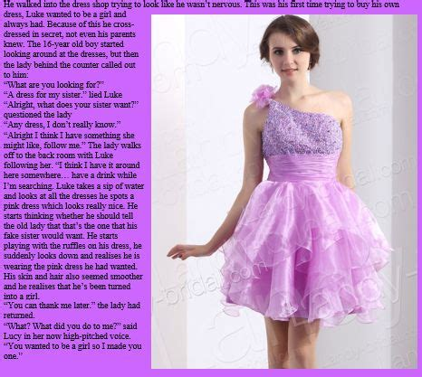 tg forced feminization dress sissy dress forced pretty nice tg really like this caption because it s not