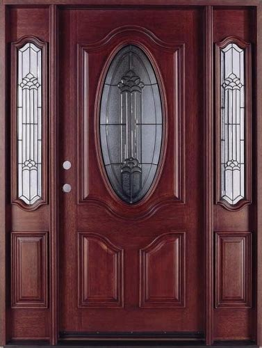Luxury Front Door Luxury Solid Wood Front Door With Glass