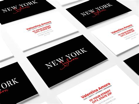 new business cards templates new york photoshop template business card anthony marisa