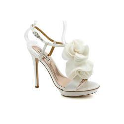 Badgley Mischka Randee Pink Satin Heels by Badgley Mischka S Randee Satin Dress Shoes Size