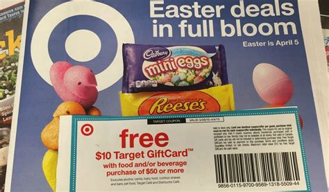 Target Food Gift Cards - free 10 gift card with 50 food purchase at target pulbix sun sentinel