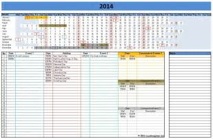 Microsoft Office Calendar Templates by 2014 Calendar Templates Microsoft And Open Office Templates