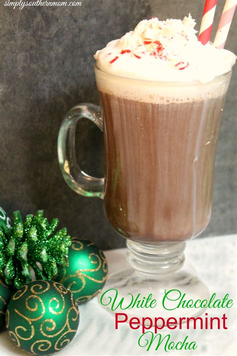 white chocolate peppermint white chocolate peppermint mocha recipe simply
