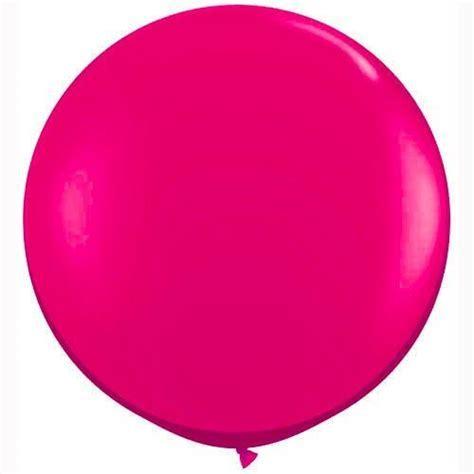 """Big Round Balloon 36"""" 3ft 1m Pink   Huge Round Wedding"""