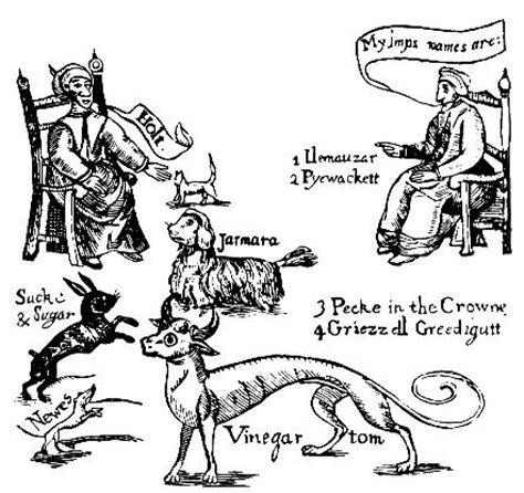 american folkloric witchcraft: familiars and familiar spirits