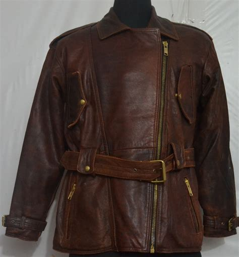albert s cruiser motorcycle thick leather jacket