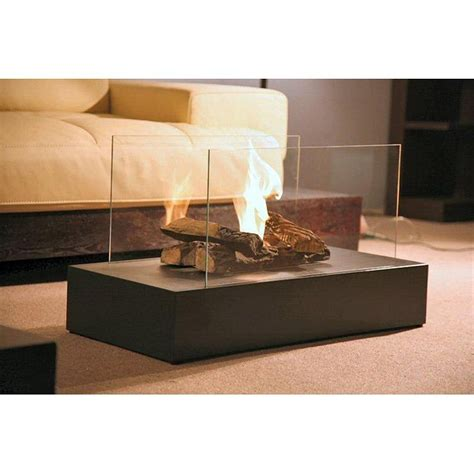 Ethanol Portable Fireplace by Free Standing Portable Bio Ethanol Fuel Fireplace