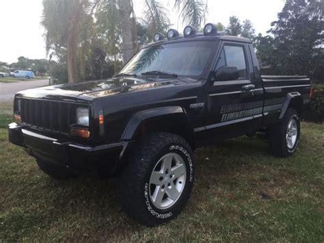 1991 jeep comanche eliminator 1991 jeep comanche 4x4 eliminator excellent condition