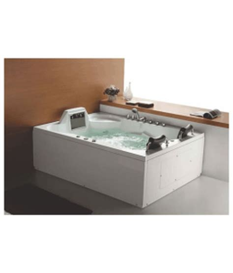 hydro massage bathtub buy cera hydro massage bathtub for two with lcd tv 1900 x