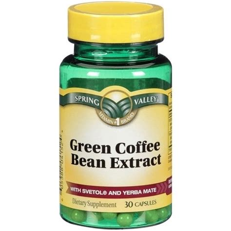 Green Coffee Bean Extract do not try green coffee bean extract until you read the