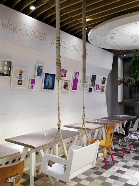interior hamburg waku waku eco restaurant by ippolito fleitz hamburg