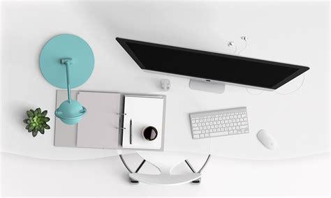 Computer Desk Background Free Illustration Desk Computer Modern Keyboard Free Image On Pixabay 1140699