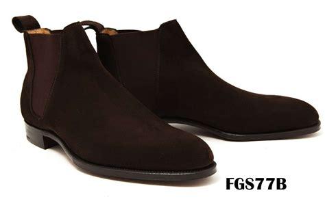 Handmade Dealer Boots - handmade dealer boots custom dealer boots suede chelsea
