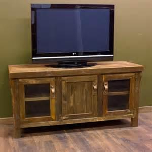 Reclaimed barnwood tv entertainment center