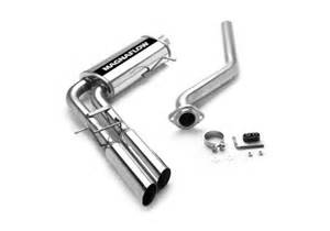 chevrolet silverado cat back dual outlet exhaust systems