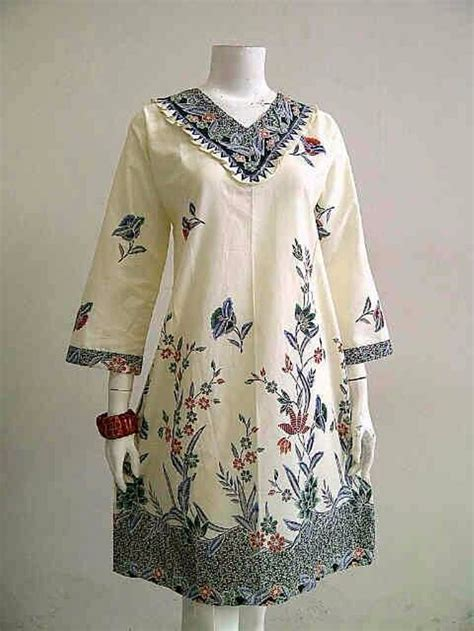 Dress Bigsize Batik jual baju batik tunik batik big size dress batik