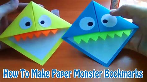 How To Make Paper Monsters - how to make paper monsters 28 images paper bag puppets