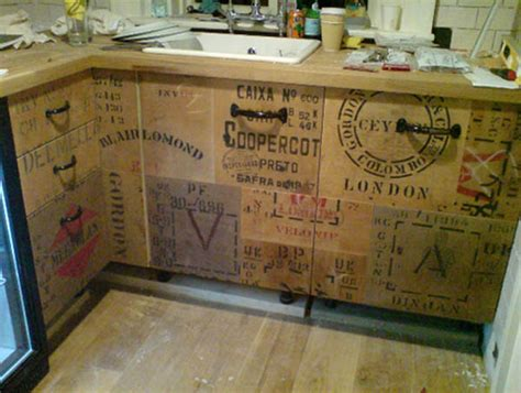 Decoupage Kitchen Cupboards - best eco friendly kitchen cabinets ecofriend