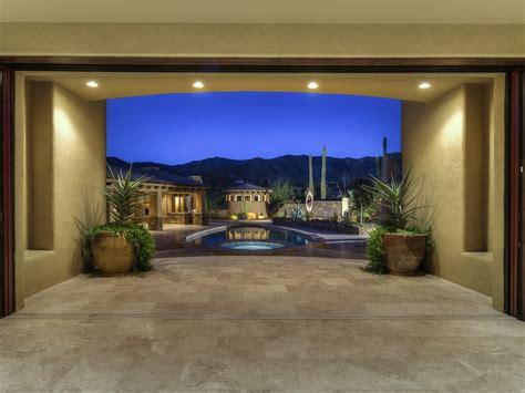 Living Room Pool View 41247 N 95th St Scottsdale Az 85262 Scottsdale Real