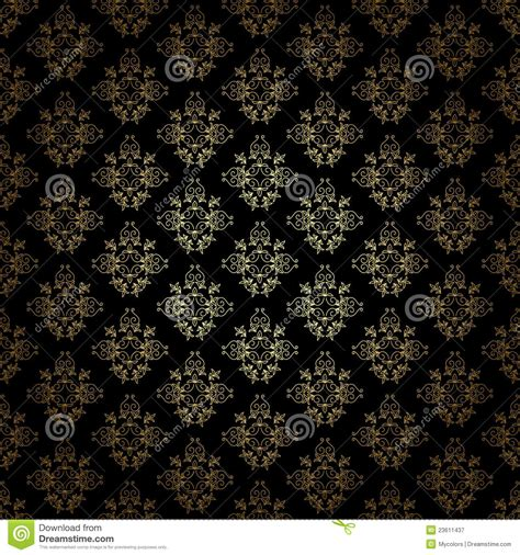 pattern gold gradient black decorative pattern with gold gradient eps royalty