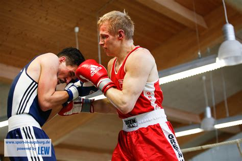 Schwäbische Meisterschaft Boxen beim PSV Augsburg E Boxen