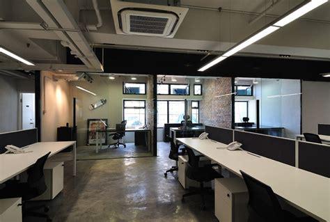 design management office a cool raw office design modern home office hong
