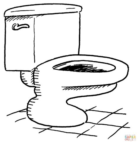 coloring page bathroom bathroom toilet coloring page free printable coloring pages