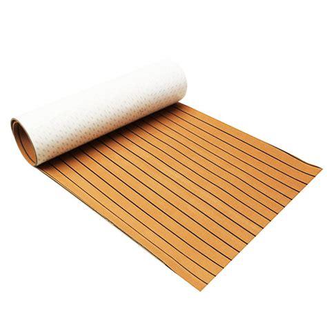 boat flooring faux teak 900x2400x6mm eva foam gold with black line marine flooring
