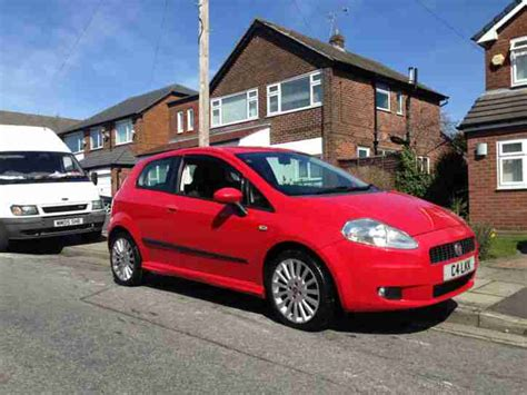 fiat punto 2006 for sale fiat 2006 grande punto sporting 1 4 16v car for sale