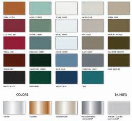 color of metals metal roof atas metal roof colors