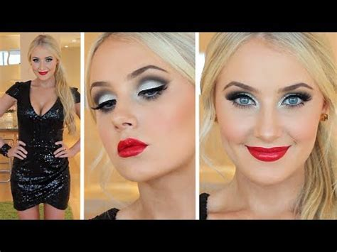 eyeshadow tutorial lauren curtis new years eve makeup hair tutorial youtube