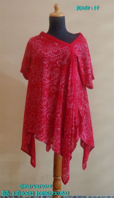 Dress Simetris 20 best blouse batik trusmi images on blouse