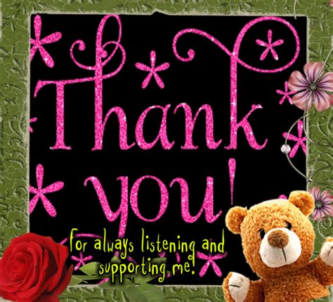 A Cute Thank You Card Free For Everyone Ecards Greeting