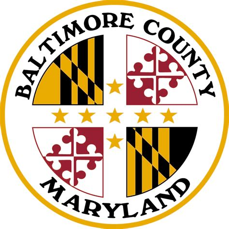 Baltimore County Search File Seal Of Baltimore County Maryland Png Wikimedia Commons