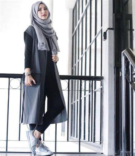 trend model busana hijab casual remaja terbaru