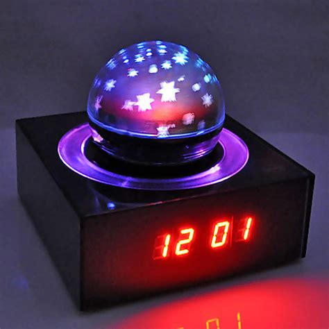 Alarm Clock With Light On Ceiling Shining Projecting Lcd Alarm Clock With Nature Sounds And Snooze Function Light Show On