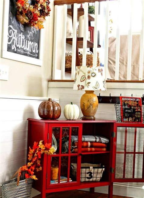decoration entree maison decoration automne entree 30 idees accueil design et