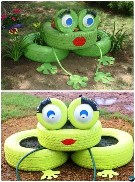 garden decoration with tyres 25 best ideas about recycled tires on recycle