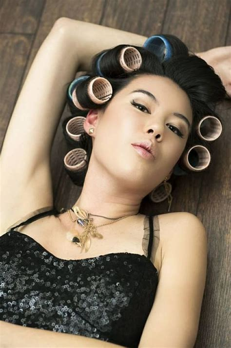hair curlers and bonnet dryer 155 best images about women in curlers in rollers in