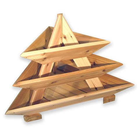 Wooden Pyramid Planter by Woodwork Cedar Pyramid Planter Plans Plans Pdf