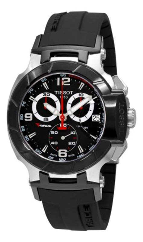best buy tissot s t0484172705700 t race black chronograph watches sale for