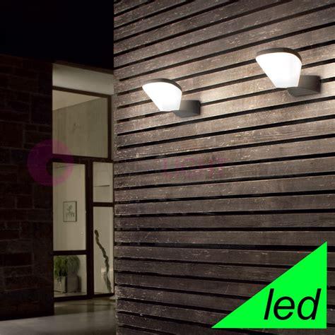 lade a led da esterno a parete illuminazione esterni italianlightstore