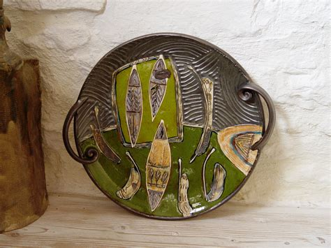 Ceramic Platters Handmade - handmade ceramic tray serving platter wall hanging plate