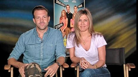 were the millers interview jason sudeikis jennifer jennifer aniston jason sudeikis on we re the millers 3