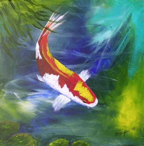 koi fish watercolor paintings 19 best koi images on pinterest