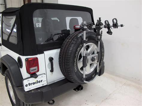 Wrangler Ski Rack by 2016 Jeep Wrangler Thule Spare Me 2 Bike Rack Spare Tire